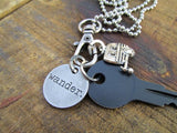 Trailer WANDER Key Necklace
