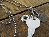 DREAM Key Charm Necklace