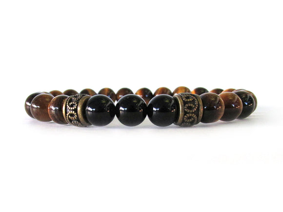 Tiger Eye Men's Bracelet