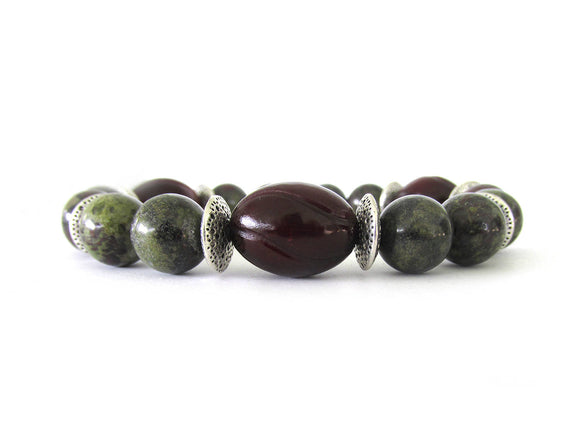 As Seen on The Vampire Diaries, Dragon's Blood Jasper Bracelet