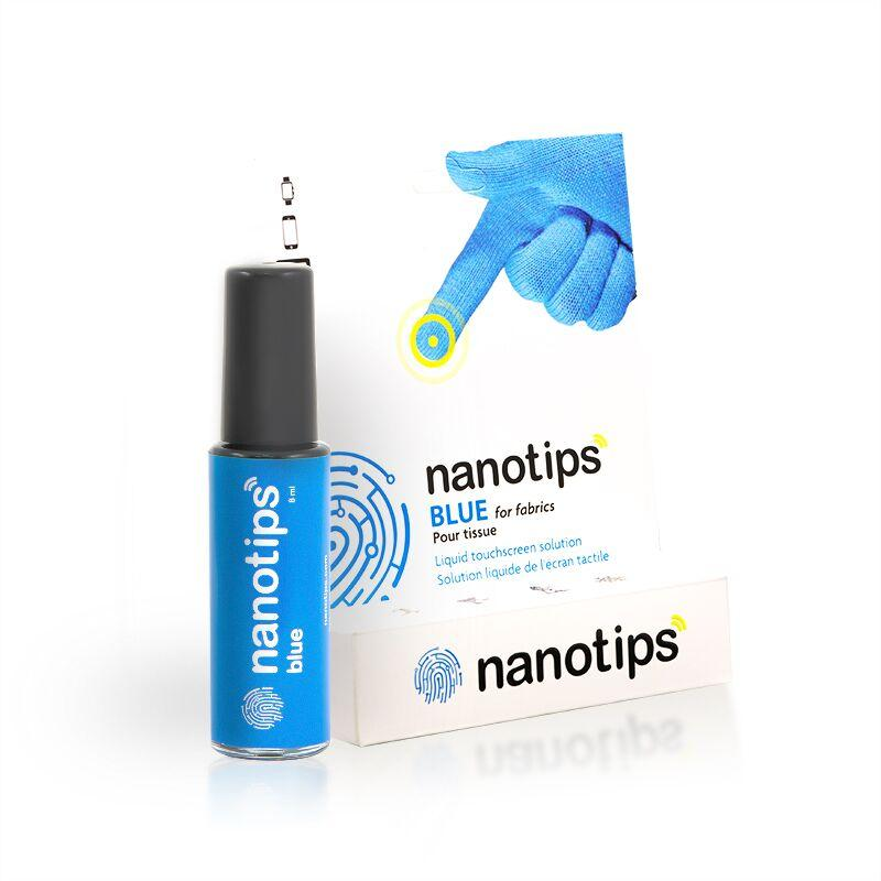 Nanotips for Fabrics and Fleeces