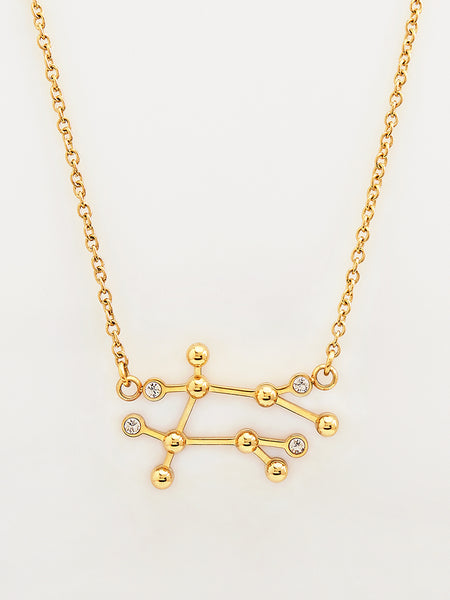 Gemini Goddess Necklace
