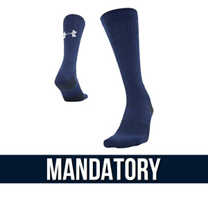 Fairborn Football 2020 - UA Team Crew Sock (Navy)