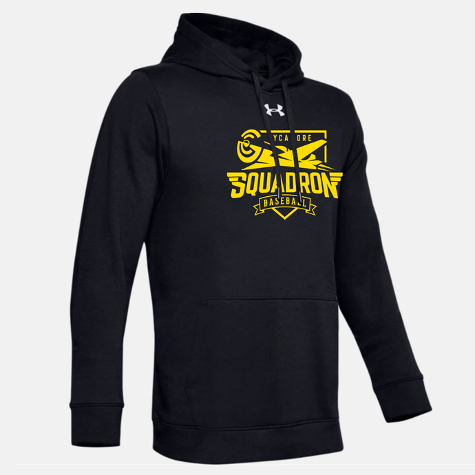 Sycamore Squadron Baseball -  UA Hustle Fleece Hoody (5 Colors)