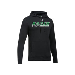 Badin Cross Country 2020 UA Hustle Fleece Hoody - Black
