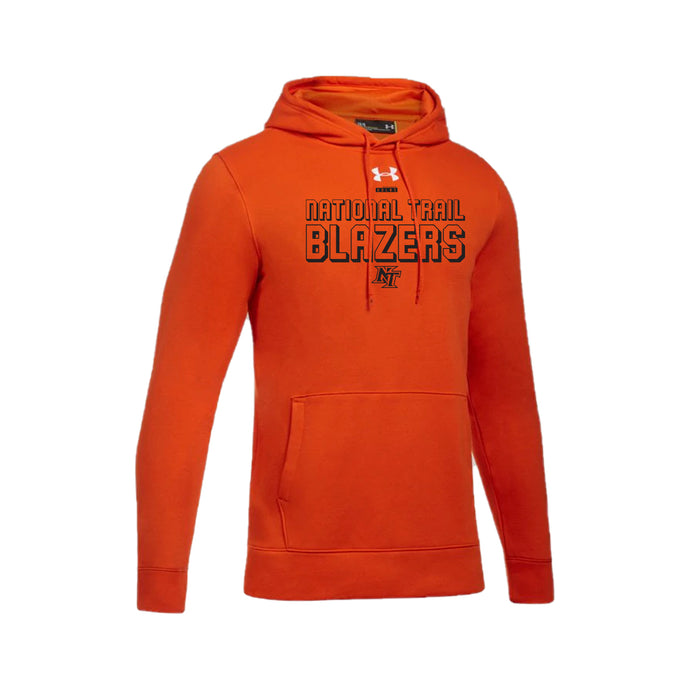 National Trail Athletics - UA Hustle Fleece Hoody (Dark Orange)