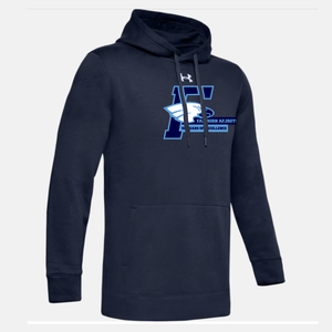 Fairborn AFJROTC - UA Hustle Fleece Hoody (4 Colors)