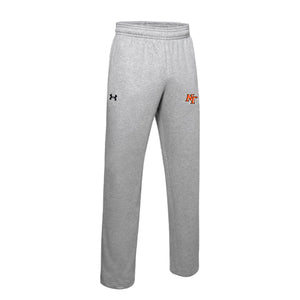 National Trail Athletics - UA M's Hustle Fleece Pant (True Grey Heather)