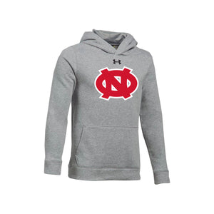 Ohio Nationals - UA Youth Hustle Fleece Hoody (True Gray Heather)