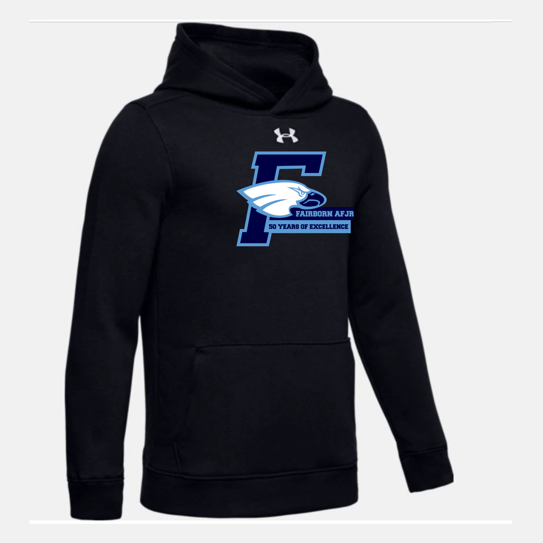 Fairborn AFJROTC - Youth UA Hustle Fleece Hoody (3 Colors)