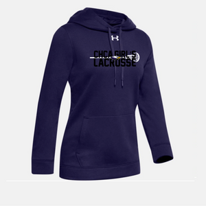 CHCA Girls Youth Lacrosse - UA Womens Rival Hoodie (4 Colors)