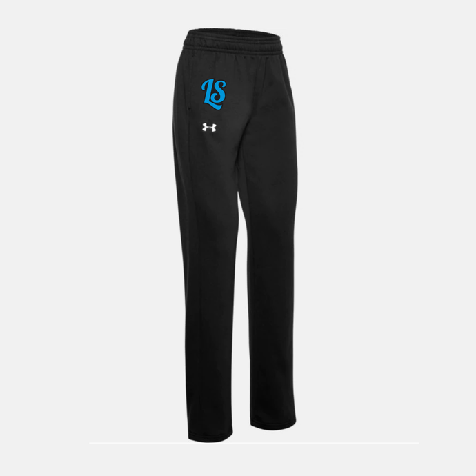 Cincy Landsharks - UA Women's Hustle Fleece Pant (Black)