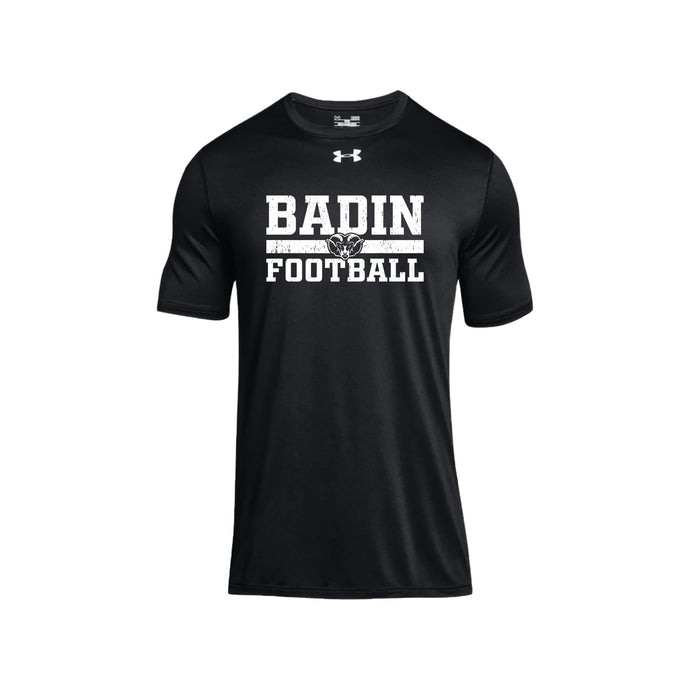 Badin Football UA Locker Tee SS 2.0 (Black)