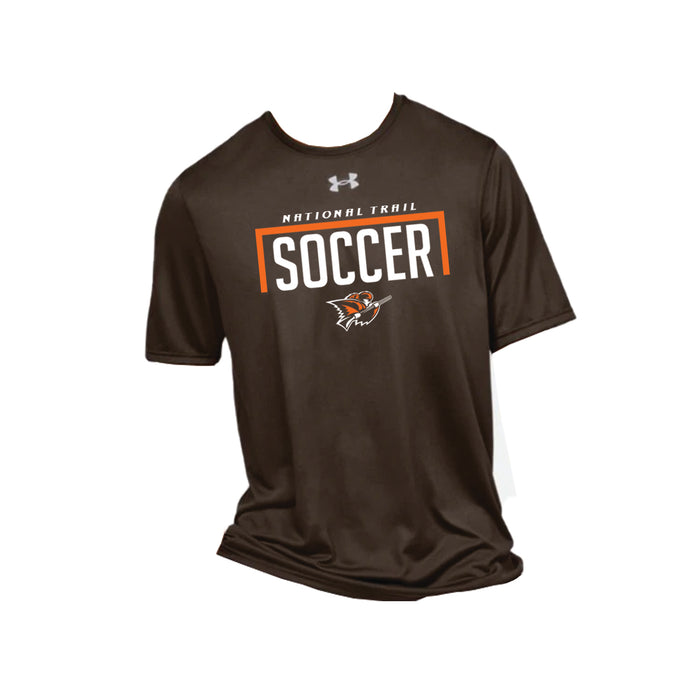 National Trail Soccer UA Locker Tee 2.0 SS (Cleveland Brown)