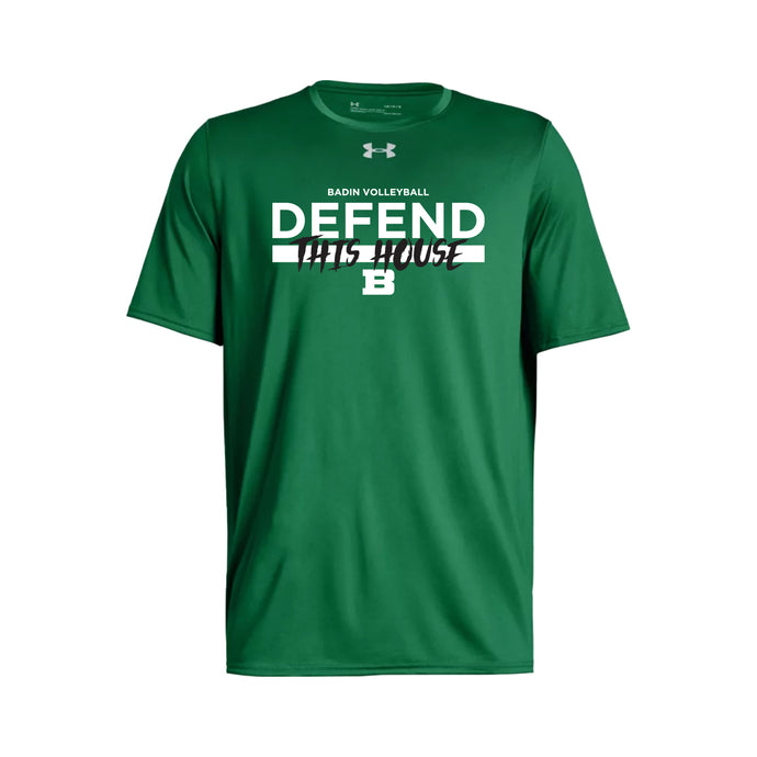 Badin Boys Volleyball 2021 - UA Locker Tee 2.0 SS (Kelly)