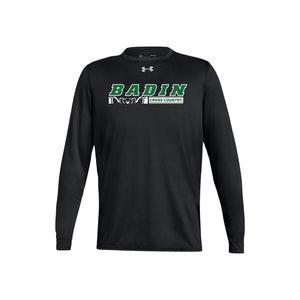Badin Cross Country 2020 UA  Locker Tee 2.0 LS - Black