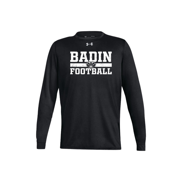 Badin Football UA Locker Tee LS 2.0 (Black)