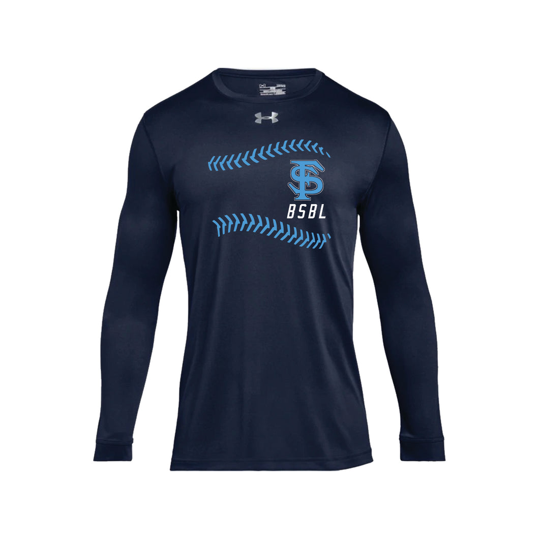 Fairborn Baseball - UA Locker Tee 2.0 LS (Midnight Navy)