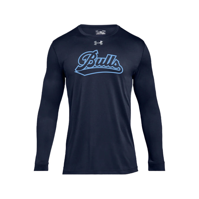 Durham Bulls - UA Locker Tee 2.0 LS (Midnight Navy)