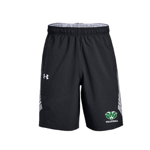 Badin Boys Volleyball 2021 - UA Woven Training Shorts (Black)