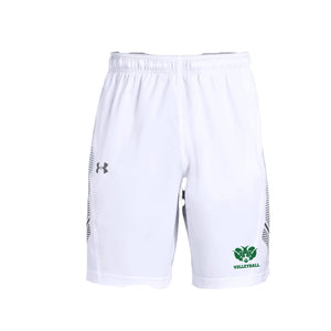 Badin Boys Volleyball 2021 - UA Woven Training Shorts (White)