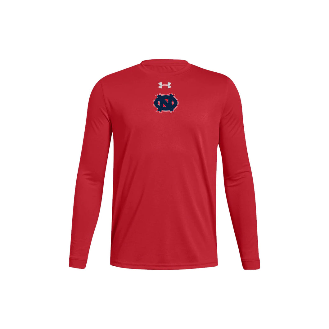 Ohio Nationals - UA Youth Locker Tee LS (Red)
