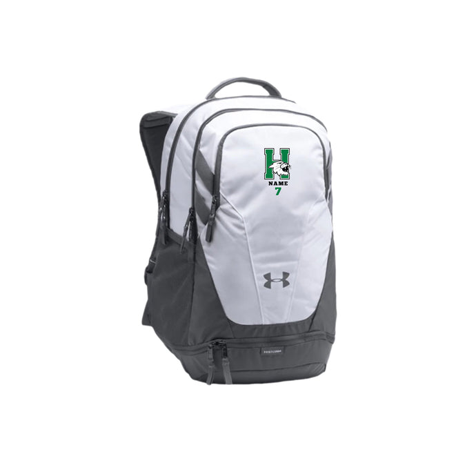 Harrison Volleyball 2020 - UA Team Hustle 3.0 Backpack (White)