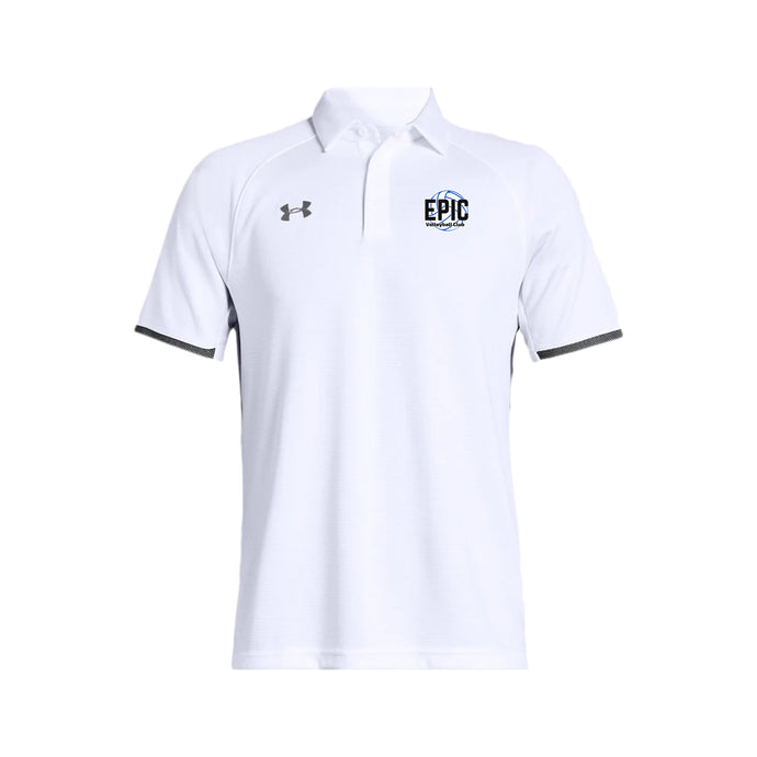 Epic Volleyball Club - UA Rival Polo (White)