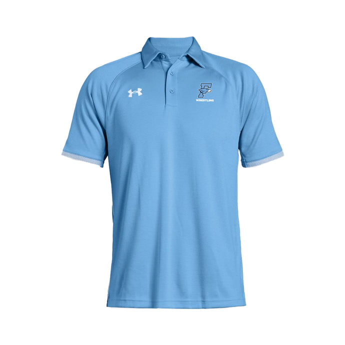 Fairborn Wrestling 2020 - Men's UA Rival Polo (Carolina Blue)