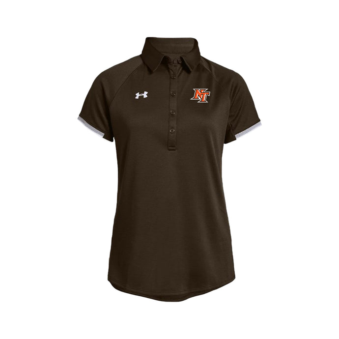 National Trail Athletics - Women's UA Rival Polo (Brown)