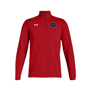 Ohio Nationals - UA M's Hustle Fleece 1/4 Zip (Red)