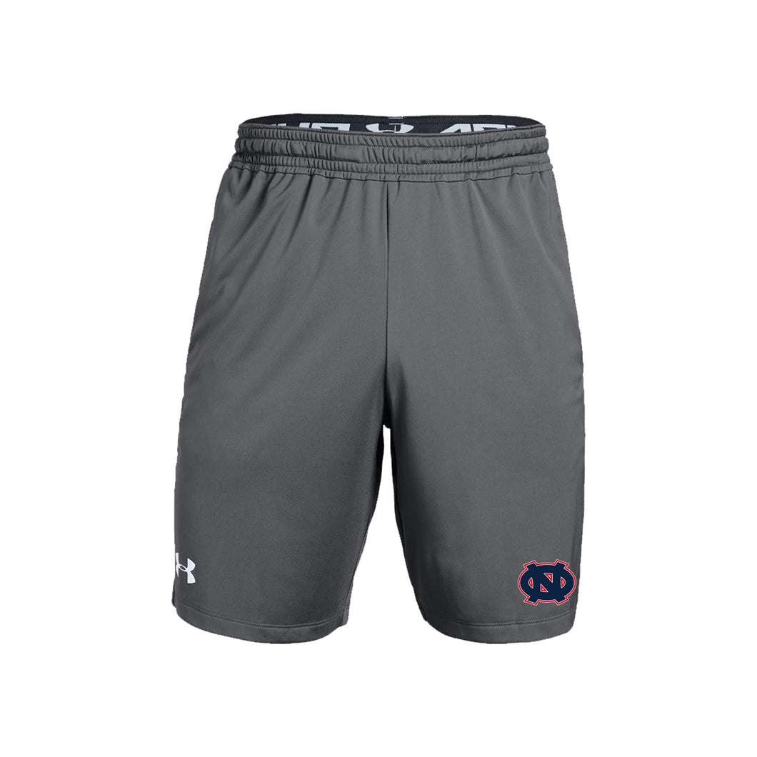 Ohio Nationals - UA M's Pocketed Raid Short (Graphite)