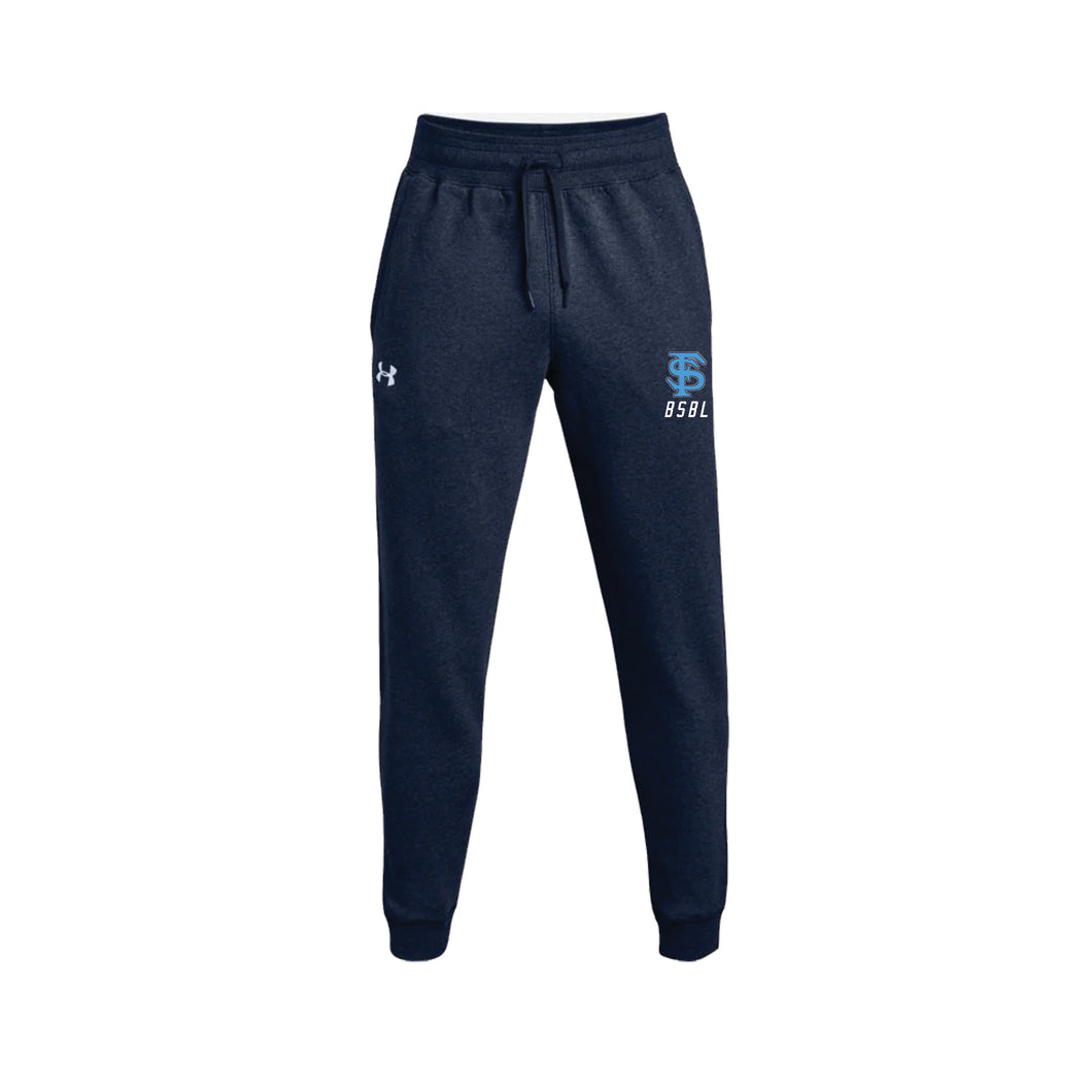 Fairborn Baseball - UA Hustle Fleece Jogger (Midnight Navy)