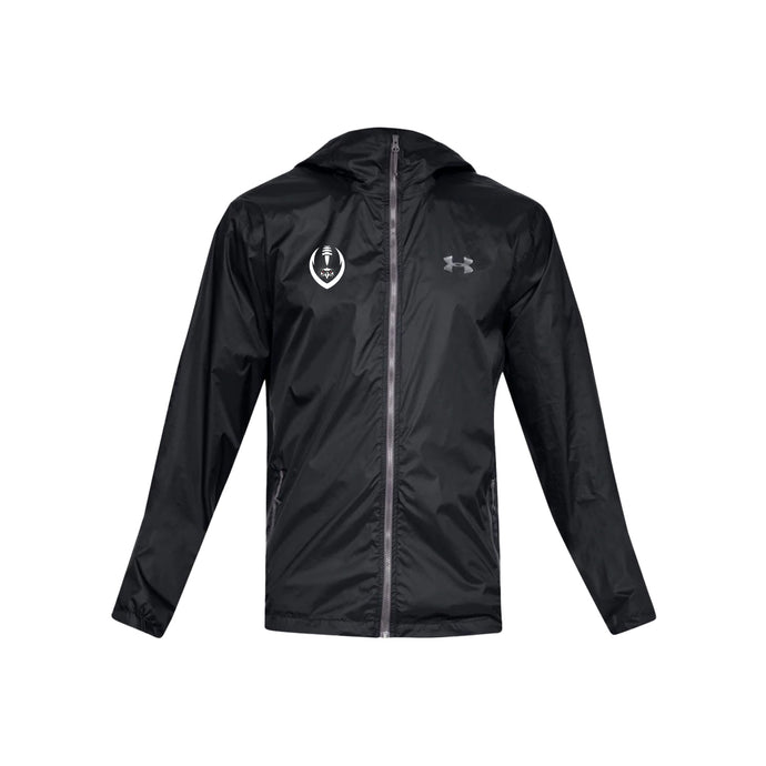 Lakota West Football - UA Forefront Rain Jacket ( Black)