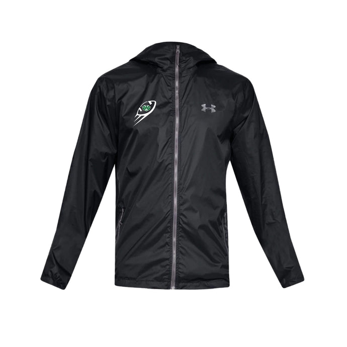 Badin Football - UA Forefront Rain Jacket ( Black)