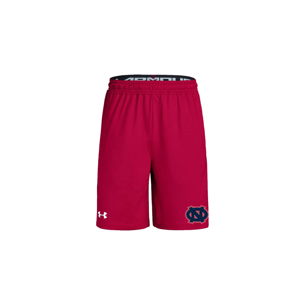 Ohio Nationals - UA Youth Pocketed Raid Short 2.0 (Red)