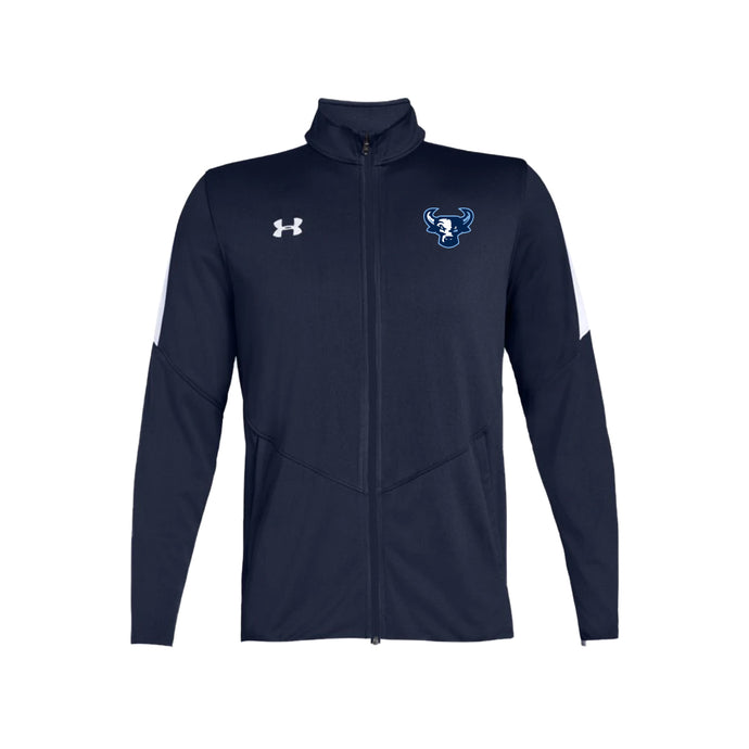 Durham Bulls - UA M's Rival Knit Jacket (Midnight Navy)