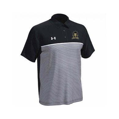 Delaware Lions - UA Stripe Mix-Up Polo