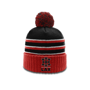 Indian Hill Lacrosse Pom Beanie with Cuff
