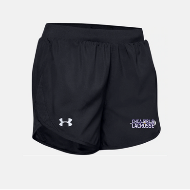 CHCA Girls Youth Lacrosse - UA Women's Fly By 2.0 Short (2 Colors)