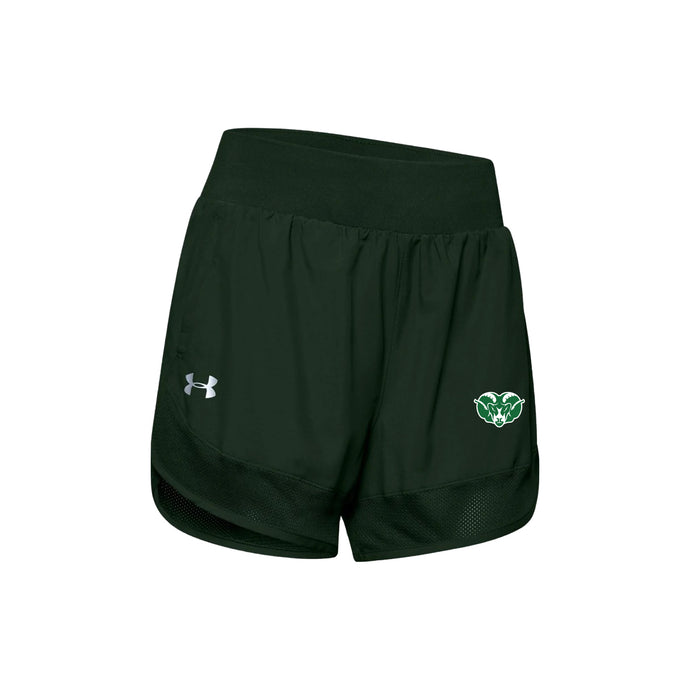 Badin Cross Country 2020 UA Women's Woven Team Short - Green