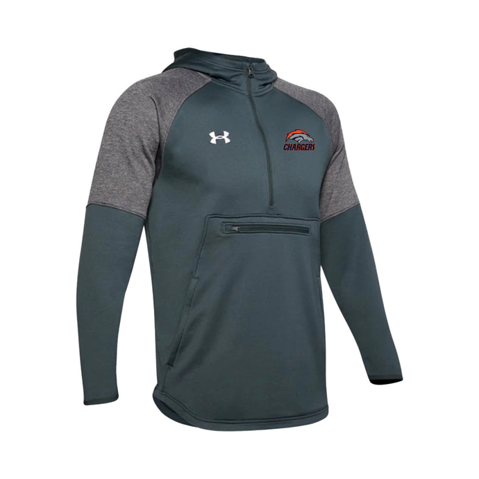Brokerage Chargers - UA Qualifier Fleece Anorak (Stealth Grey)
