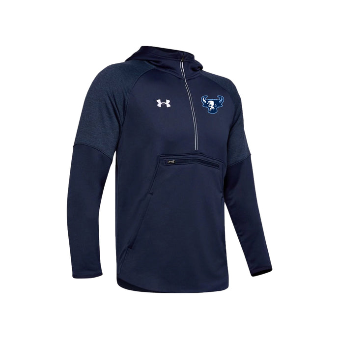 Durham Bulls - UA M's Qualfier Fleece Anrk (Midnight Navy)