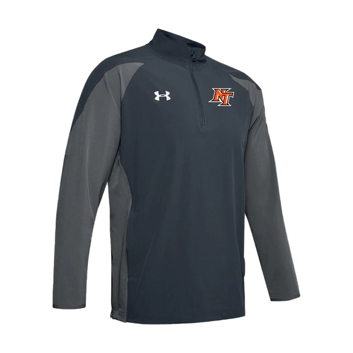 National Trail Athletics - UA Motivate LS 1/4 Zip (Stealth Grey)
