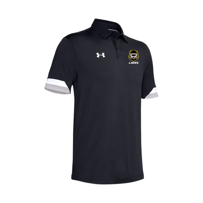 Salem Lions Football - UA Trophy Polo (Black)