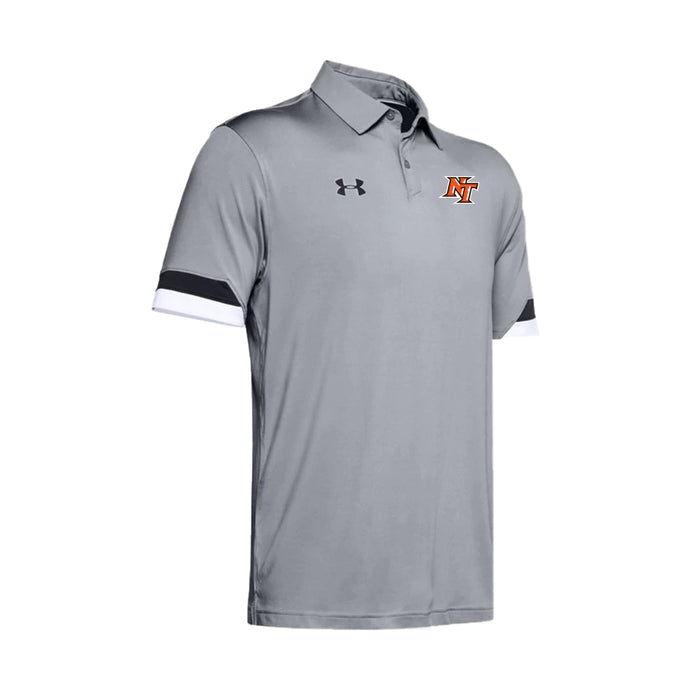National Trail Athletics - UA M's Trophy Polo (Mod Grey)