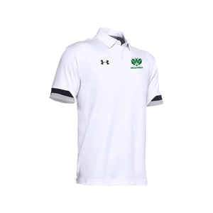Badin Boys Volleyball 2021 - UA Trophy Polo (White)