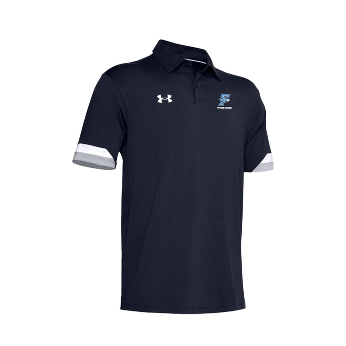 Fairborn Wrestling 2020 - Men's UA Trophy Polo (Midnight Navy)