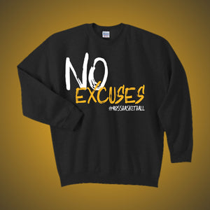 Ross Basketball No Excuses Sweater