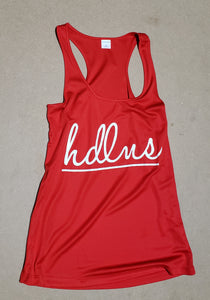 Ladies PosiCharge Competitor HDLNS Racerback Tank (5 colors avail)